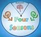 Seasons Posters, Word Wall, Interactive Flap Book & Craftivity