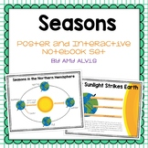Seasons Posters and Interactive Notebook INB Set