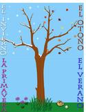 Seasons Posters in Spanish