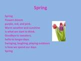 Seasons Powerpoint - kindergarten and first grade