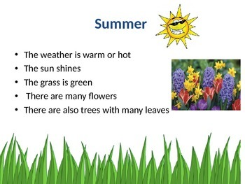 Seasons Powerpoint