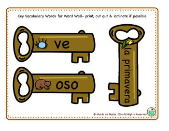 Seasons Printable Minibook & Theme Activity Pack Spanish Resources