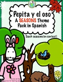 Seasons Printable Minibook & Theme Activity Pack Spanish R