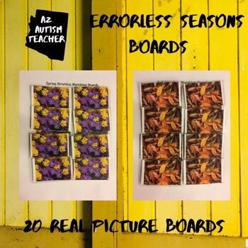Seasons: Real Picture Errorless Boards