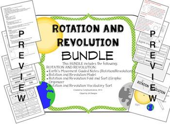 Seasons: Rotation and Revolution BUNDLE