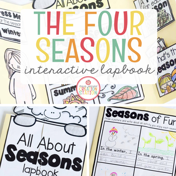 Seasons Science Lapbook