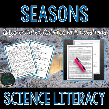 Seasons - Science Literacy Article