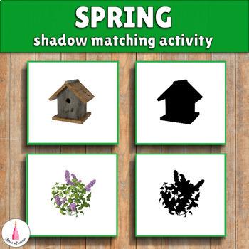 Seasons Shadow Matching Activities Bundle