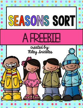 Seasons Sort FREEBIE