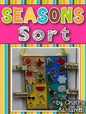 Seasons Sort- in English & Spanish