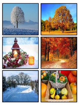 Seasons Sortable Activity
