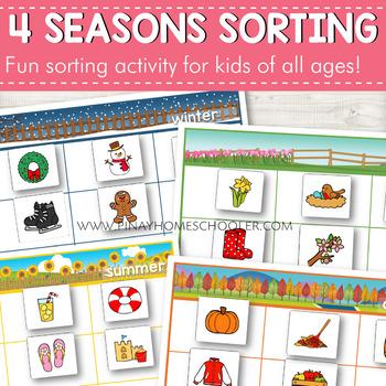 Seasons Sorting Activity
