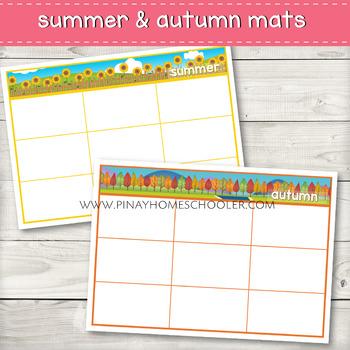 Seasons Sorting Activity (Clipart)