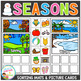 Seasons Sorting Mats + Picture Cards