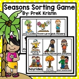 Seasons Sorting Game