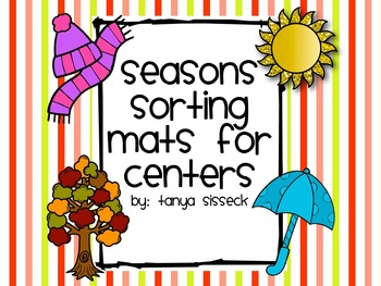Seasons Sorting Mats