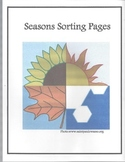 Seasons Sorting Pages