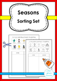 Seasons Sorting Set for Special Education