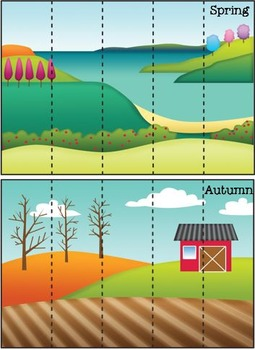 Seasons Strip Puzzles