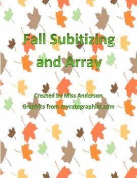 Seasons Subitizing and Array Bundle