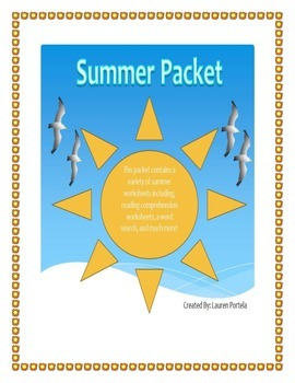 Seasons-Summer Packet