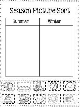 All About the Four Seasons {Supplemental Science Unit for Journeys Lesson 13}