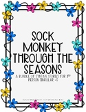 Seasons Syntax Story: Sock Monkey 4-Story Pack {3rd Person