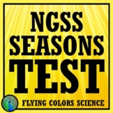 Seasons Test Middle School NGSS Aligned MS-ESS1-1