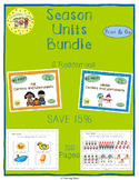 Seasons Units Centers and Printables Bundle