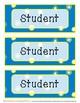 Seasons Theme Name Labels - Editable! - Set 3