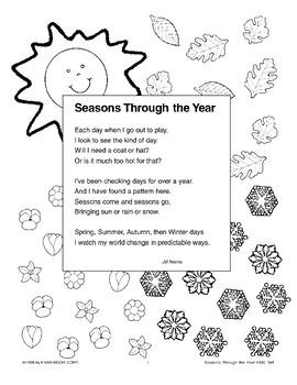 Seasons Through the Year