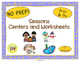 Seasons Worksheets Activities Games Printables and More