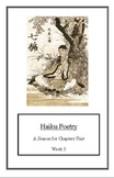 Seasons Unit: Haiku Poetry(Week 5) Common Core Weekly Lesson Plan