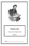 Seasons Unit:Poetry Introduction (Week 4) Common Core Weekly Lesson Plan
