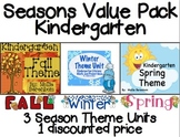 Seasons Kindergarten: Fall, Winter, Spring