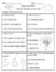 Seasons - Vocabulary & Comprehension Test/Quiz (Journeys)