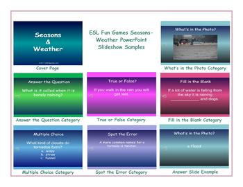 Seasons-Weather PowerPoint Slideshow