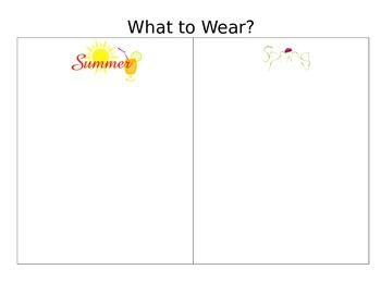 Seasons:  What should I Wear