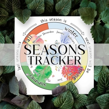 Seasons Wheel, Seasonal and Monthly Tracker