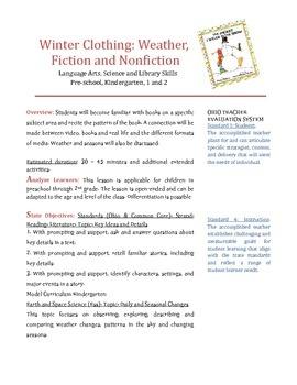 Seasons, Winter, Fiction, Nonfiction and Fun!