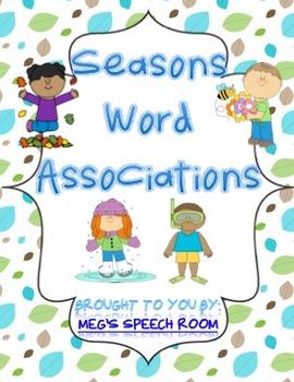 Seasons Word Associations
