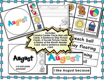 Writing Activity for Seasons and Months of the Year, Kinder L.K.1, W.K.7, W.K.8