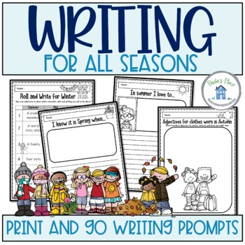 Seasons - Writing Freebie