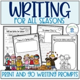 Season Writing Activities Free