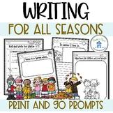 Season Writing Activities Free