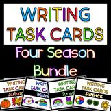 Seasonal Writing Task Cards Bundle
