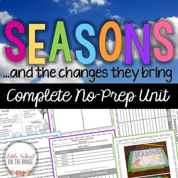 Seasons and the Changes They Bring