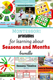 Seasons and Months Printables Bundle in Russian