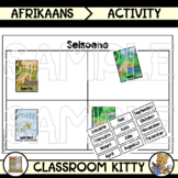 Seasons and Months Sorting Activity : Afrikaans
