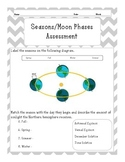 Seasons and Moon Phases Test